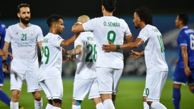 لاعبي الأهلي السعودي