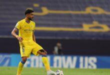 لاعب النصر عبد الإله العمري