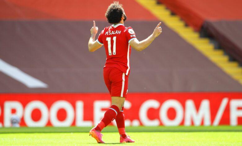 هدف محمد صلاح في مرمى نيوكاسل يونايتد 1-0 الدوري الانجليزي