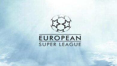 شعر بطولة دوري السوبر الاوروبي الجديد