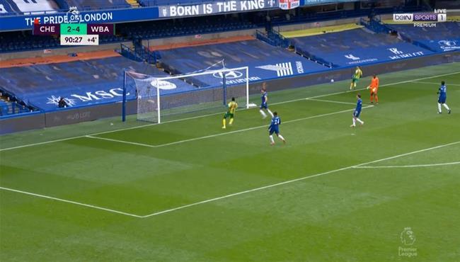 اهداف مباراة وست بروميتش وتشيلسي 5-2 الدوري الانجليزي