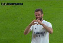 هدف ريال مدريد الاول في مرمى اتلتيك بلباو 1-0 تعليق رؤوف خليف