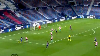 هدف ليفانتي القاتل في مرمى برشلونة 3-3 الدوري الاسباني
