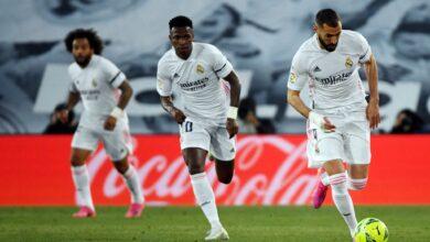الأفضل والأسوأ بين لاعبي ريال مدريد عقب التعادل أمام إشبيلية