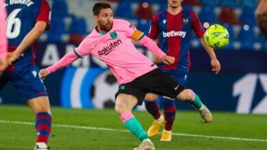يا لها من مُباراة.. برشلونة يتعادل إيجابياً أمام ليفانتي في الدقائق النارية