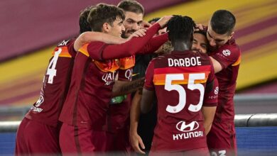 الأفضل والأسوأ بين لاعبي روما عقب الفوز أمام لاتسيو