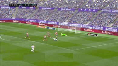 هدف بلد الوليد الاول في مرمى اتليتكو مدريد 1-0 تعليق رؤوف خليف