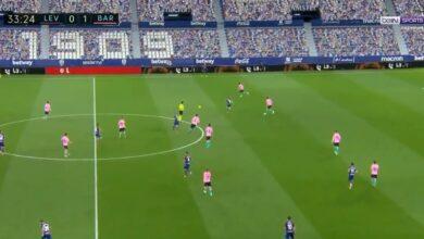 اهداف مباراة برشلونة وليفانتي 3-3 الدوري الاسباني