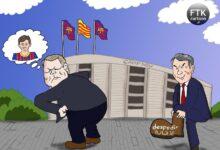 كاريكاتير | قناعات كومان قد تكلفه منصبه!