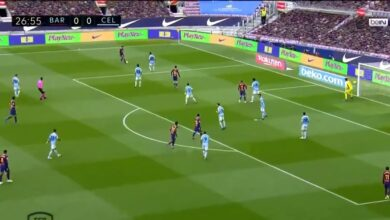 هدف ميسي في مرمى سيلتا فيجو 1-0 الدوري الاسباني