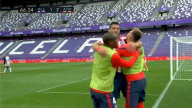 هدف اتليتكو مدريد الثاني في مرمى بلد الوليد 2-1 تعليق رؤوف خليف