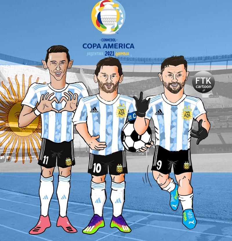 كاريكاتير | هل تنجح الأرجنتين في الفوز بلقب كوبا أمريكا 2021 بعد غياب دام 28 سنة؟