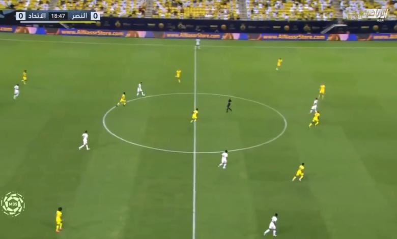 اهداف مباراة الاتحاد والنصر 2-1 الدوري السعودي