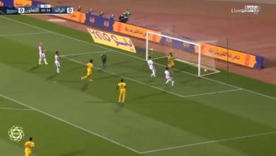 اهداف التعاون والرائد 2-1 الدوري السعودي