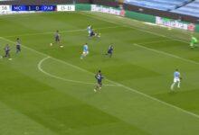 هدف رياض محرز الثاني في مرمى باريس سان جيرمان 2-0 دوري ابطال اوروبا