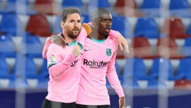 الأفضل والأسوأ بين لاعبي برشلونة عقب التعادل أمام ليفانتي