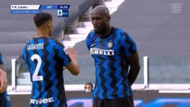 هدف لوكاكو في مرمى يوفنتوس 1-1 الدوري الايطالي