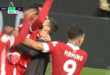 هدف أليسون في مرمى وست بروميتش 2-1 الدوري الانجليزي