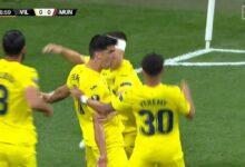 هدف فياريال الاول في مرمى مانشستر يونايتد 1-0 الدوري الأوروبي