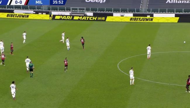 اهداف مباراة ميلان ويوفنتوس 3-0 الدوري الايطالي