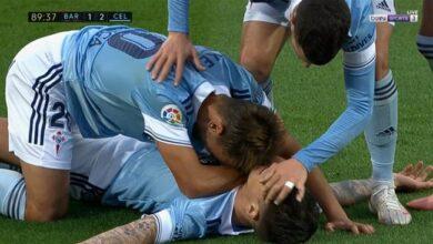 اهداف مباراة سيلتا فيجو وبرشلونة 2-1 الدوري الاسباني