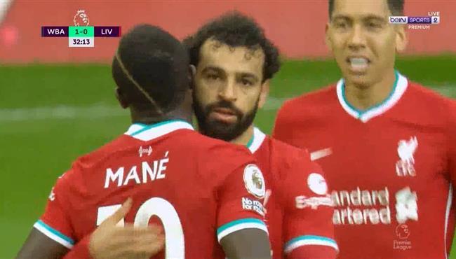 اهداف مباراة ليفربول ووست بروميتش 2-1 الدوري الانجليزي