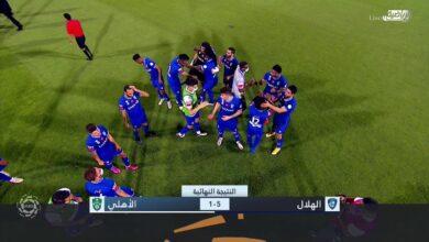 اهداف مباراة الهلال والأهلي 5-1 الدوري السعودي