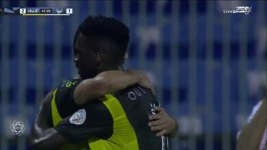 اهداف مباراة الاتحاد وأبها 2-1 الدوري السعودي