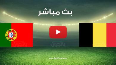 مباراة بلجيكا والبرتغال