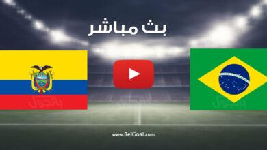 مباراة البرازيل والإكوادور