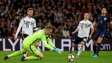 منتخب ألمانيا - إنجلترا