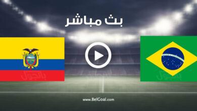 مشاهدة مباراة البرازيل والإكوادور
