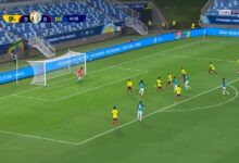 اهداف مباراة كولومبيا والاكوادور 1-0 كوبا أمريكا