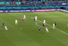 هدف ايطاليا الثالث في مرمى سويسرا 3-0 يورو 2020