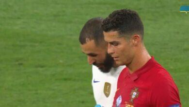 ملخص مباراة فرنسا والبرتغال في يورو 2020