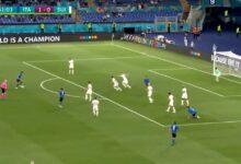 هدف ايطاليا الثاني في مرمى سويسرا 2-0 يورو 2020