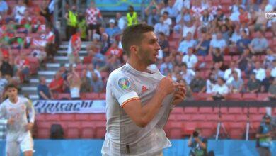 هدف اسبانيا الثالث في مرمى كرواتيا 3-1 يورو 2020