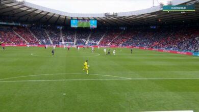 هدف خيالي في مرمى التشيك واسكوتلندا - يورو 2020