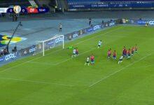 هدف ميسي في مرمى تشيلي 1-0 كوبا أمريكا