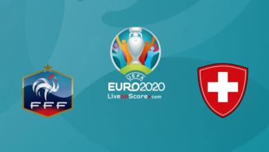 موعد مباراة فرنسا وسويسرا اليوم في يورو 2020 والقنوات الناقلة