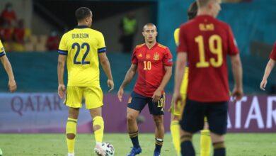 إسبانيا - السويد
