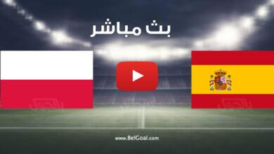مباراة إسبانيا وبولندا