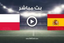 مشاهدة مباراة إسبانيا وبولندا