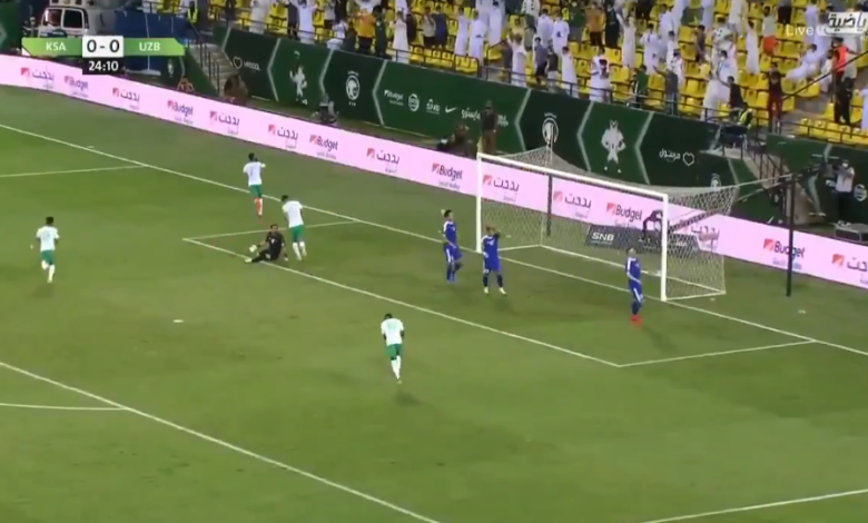 أهداف مباراة السعودية وأوزباكستان 3-0 تصفيات آسيا لكأس العالم