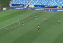 اهداف مباراة تشيلي واورجواي 1-1 كوبا أمريكا