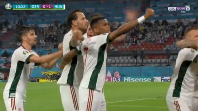هدف المجر الاول في مرمى المانيا 1-0 يورو 2020