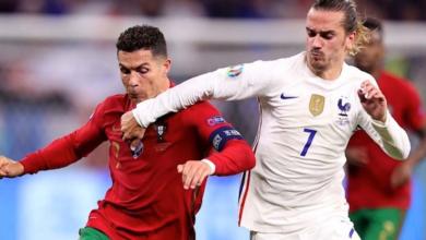 القنوات الناقلة لمباراة بلجيكا والبرتغال اليوم في يورو 2020