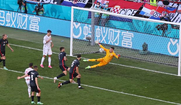 نتيجة مباراة كرواتيا وإسبانيا اليوم في يورو 2020