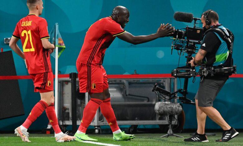 اهداف مباراة بلجيكا وروسيا 3-0 يورو 2020