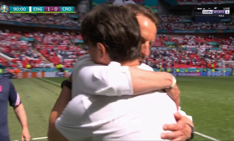 اهداف مباراة انجلترا وكرواتيا 1-0 يورو 2020